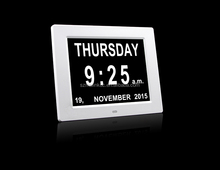 ELectric Digital calendar day clock for memory loss the oldp eople