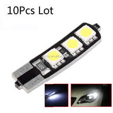 T10 6smd 5050 with canbus, SMD light bulb error free canbus led auto lights