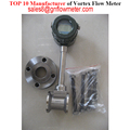 Top manufacture vortex flowmeter for gas from Shanghai CiXi