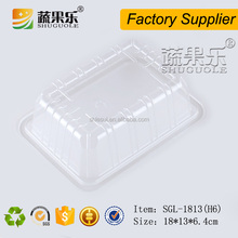Eco-friendly plastic frozen food tray packaging for seafood