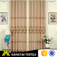 Kangtai Textile hot sale 100%polyester yarn dyed softextile jacquard fabric curtain
