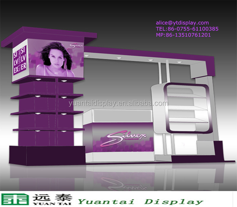 boutique shop counter design/ jewellery shop furniture interior design/mall jewelry kiosk for sale
