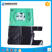 Hdpe disposable scented custom printed doggie waste bags wholesale