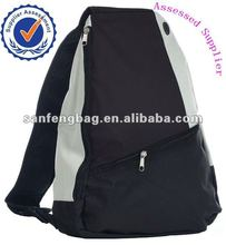 Trendy Three Tone Side Sling Backpack,School Book Bag Good for Traveling