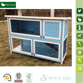 Outdoor Small Rabbit Hutch New Design