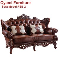 Popular traditional Luxury hotel room vintage furniture sofa