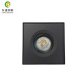 2018 new design led cob surface downlight with warm white 2700k 3000k 4000k 5000k dimmable with fast wiring and quick install