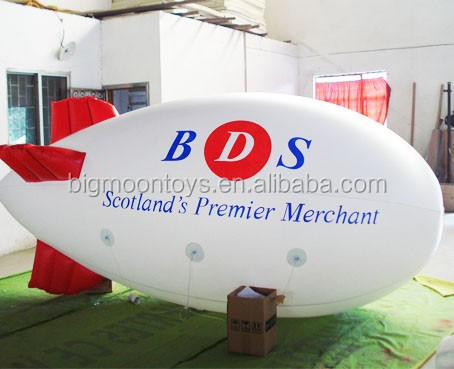 Advertising inflatable airship, advertising inflatable airship / blimp aerial advertising