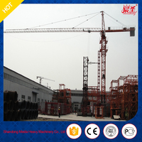China Hot sale tower cranes QTZ63(5010) 5t New mobile traveling ISO9001/BVapproved