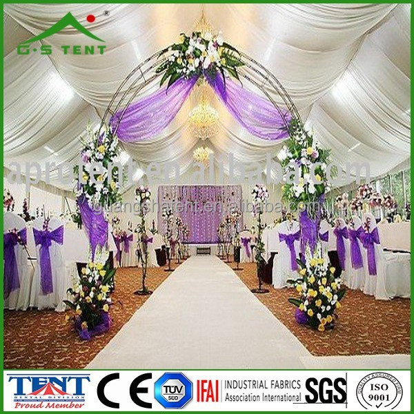 exhibition decoration drapery curtains tents