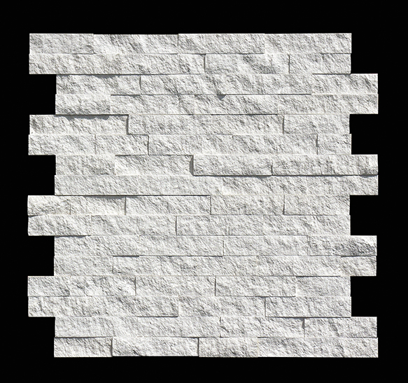 high quality white quartz stacked stone with best and low price