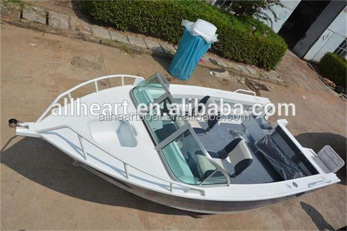 17ft aluminum runabout outboard motor boat fishing