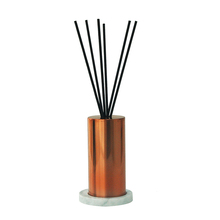home fragrance luxury Perfume aroma Reed Diffuser Set with Marble <strong>plate</strong> and 10ML PET bottle