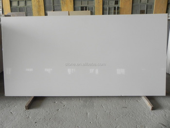 Super white quartz stone pure white quartz surface pure white silestone