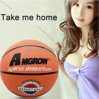 5# rubber basketball, 500-520G, good price, good quality