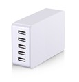 Wholesale 32.5W Multi 5 Ports 5V 6.5A Quick desktop charger USB Travel Portable Phone Charger Pack