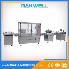 Various screw filling and capping machine wine