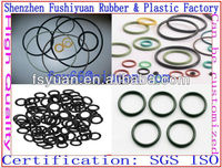 silicone rubber O rings NR CR NBR EPDM NBR seal O rings for The hydraulic oil cylinder piston rod