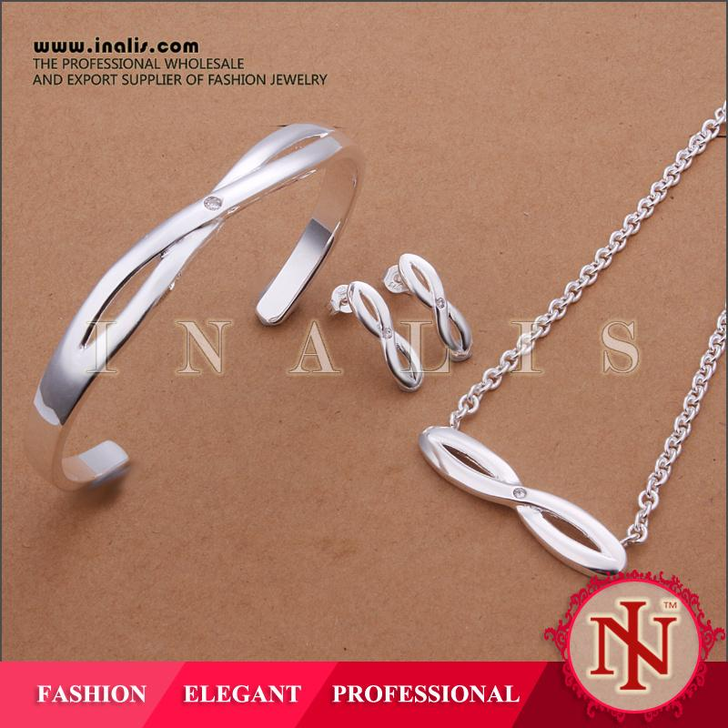 Inalis infinity symbol 2014 fashionable custom jewelry wholesalers in china S377