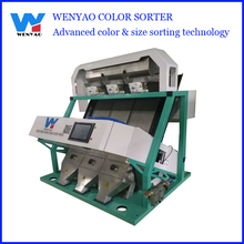 3 chutes Easy to use CCD Vibration mini cashew Color Sorting Machine