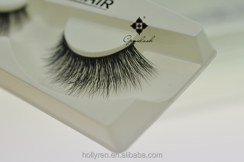 Customized Package 3D Luxury 100% Real Mink Fur Eyelash