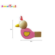 New style wooden bird whistle toy for kids/Funny wooden sound whistle/music instruments for child