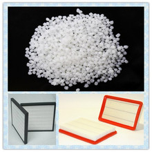 Hot melt adhesive for air filter manufacturers