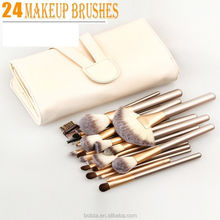 24pcs Top Professional Wood Cosmetic Makeup Brush Set makeup Kit