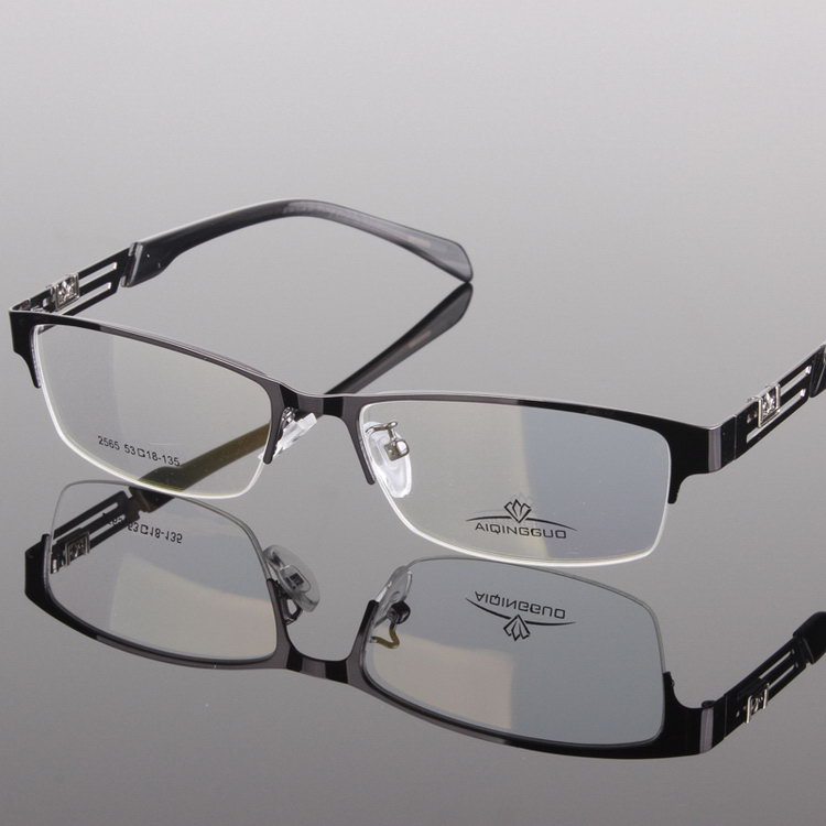 Popular crazy Selling rimless titan eyeglass frame