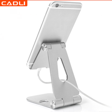 CD01B 360 degree Aluminum Universal Lazy Flexible Smart Tablet Cell Mobile Desk Phone Holder Stand