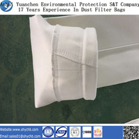 NonWoven filter media vacuum cleaner fiberglass dust bags for dust collection