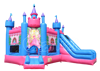 2016 new arrival Inflatable princess jumping bouncy castle slide for sale