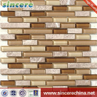 glass mosaic hand-cut mural picture free tile pattern for outdoor decoration