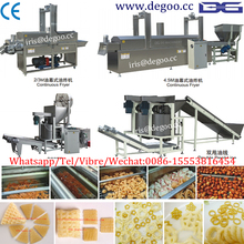 Continuous fried snack pellet frying machine from Jinan DG company