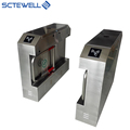 Supermarket access control swing pedestrian barrier gate