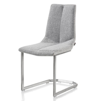 sell well in holand ergonomic design fabric dining chair
