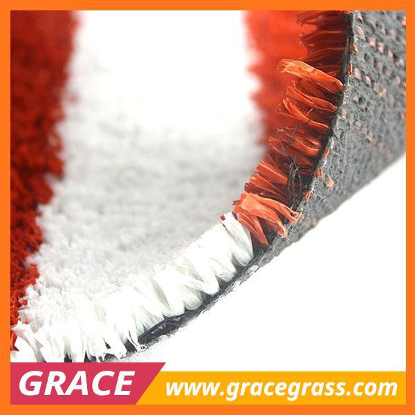 Green Blue White Red Artificial Grass for Tennis Court