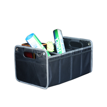 Wholesale Multi Compartments Collapsible Portable Car Trunk Organizer