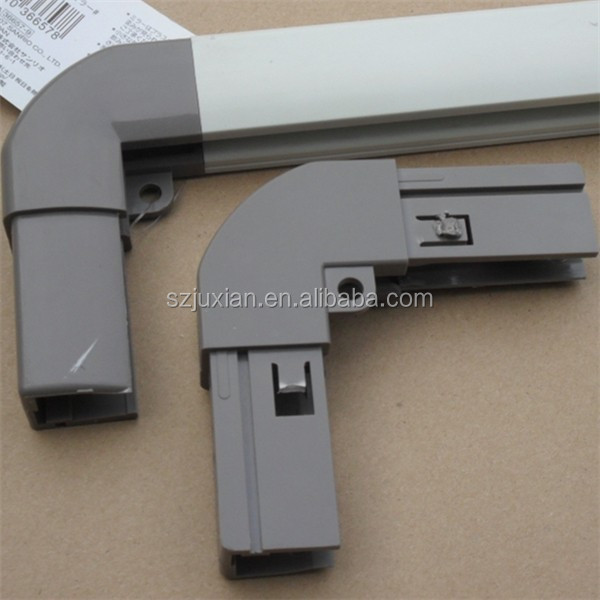 extrusion profiles pvc square frame corner connector plastic frame