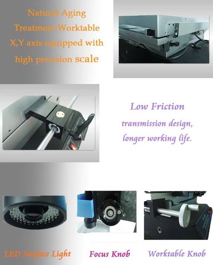 visual measuring machine