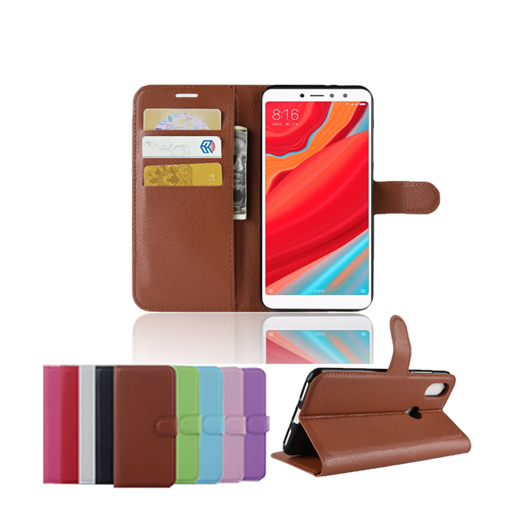 For Xiaomi Redmi <strong>Y2</strong> S2 PU Leather Flip Cover Case Chinese Brand Mobile Phone Accessory