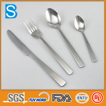 high quality stainless steel names of cutlery set items