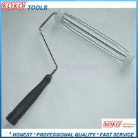 black plastic handle 4 wire paint cage roller frame