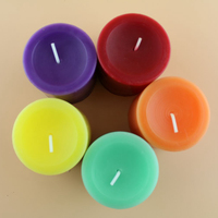 chanukah beeswax candles decorative scented pillar candle with beeswax p277