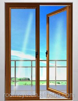 Hot Sale New Design Aluminium Double Glazed Casement Doors comply with Australian standards & New Zealand standards(ACD-016)