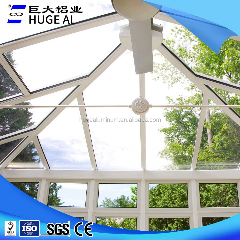 OEM manufacturers sunrooms with laminated glass