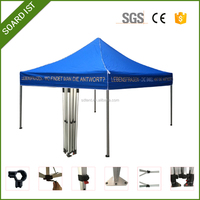 3x3 folding promotional display roof top tent