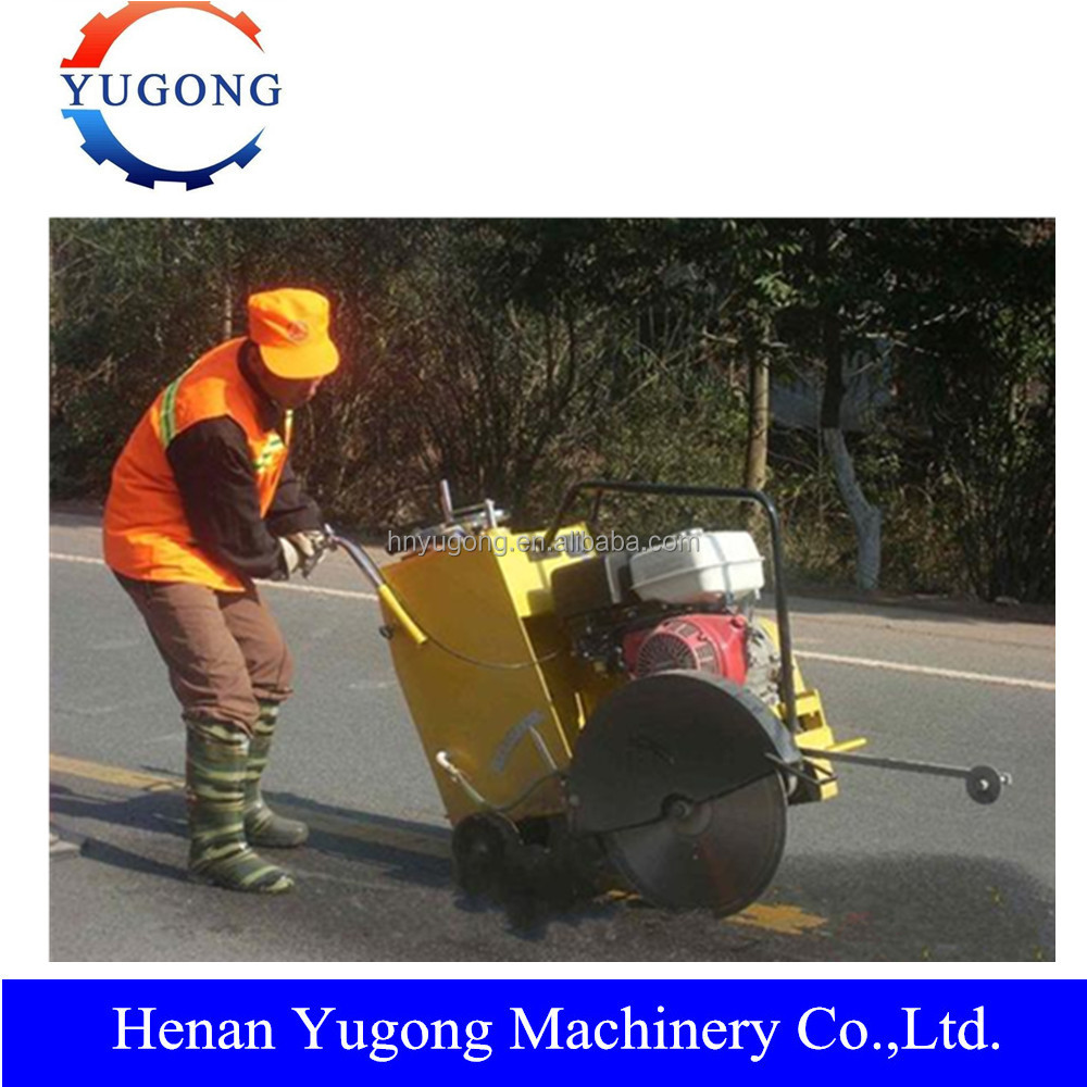 Promotion of Honda Engine Concrete Saw Asphalt Road Cutter Machine
