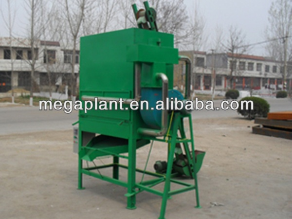 Fish feed pellet dryer with bucket elevator