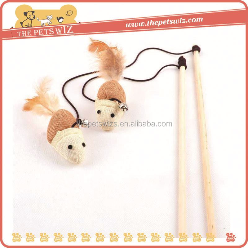 Cat dancer toy ,CC051 bulk cat toys , mylar cat sticks